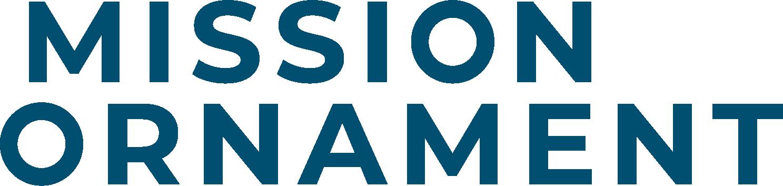 Logo Mission Ornament