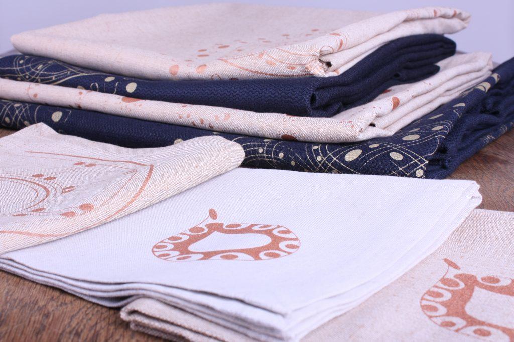 Tischdecken, groß, klein, rechteckig, quadratisch, nachtblau, sand, Servietten-Sets, sand, sand-hell, Halbleinen