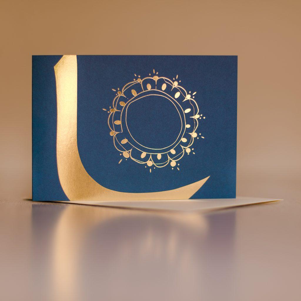 Inspiration Blauer Koran